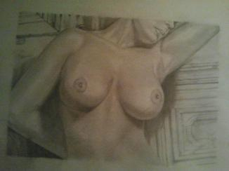Tekening borsten