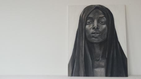 Portret zwart/wit