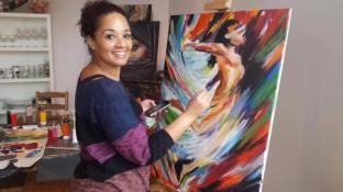 Schilderij, cursusdag